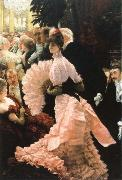 James Tissot the reception oil painting picture wholesale