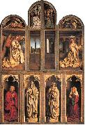Jan Van Eyck Closed view, back panels oil painting picture wholesale