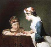 Jean Baptiste Simeon Chardin the young schoolmistress oil painting picture wholesale