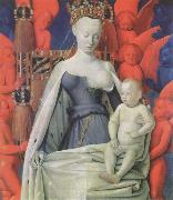 Jean Fouquet The melun Madonna oil painting picture wholesale