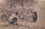 Jean Francois Millet First step oil painting picture wholesale