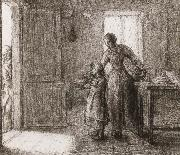 Jean Francois Millet Beggar oil painting picture wholesale