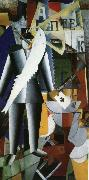 Kasimir Malevich Pilot oil painting picture wholesale