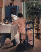 Laurits Andersen Ring at breakfast oil painting picture wholesale