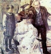 Lovis Corinth The Artist and His Family oil painting picture wholesale