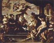 Luca Giordano rubens painting the allegory of peace oil painting picture wholesale