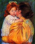 Mary Cassatt Maternal Kiss oil painting picture wholesale