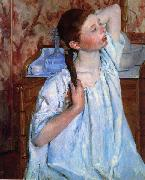 Mary Cassatt Girl Arranging her Hair oil painting picture wholesale