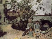 Paul Gauguin Picasso Street Garden oil painting picture wholesale
