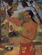 Paul Gauguin Take mango woman oil painting reproduction