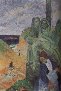 Paul Gauguin Green Christ oil painting picture wholesale