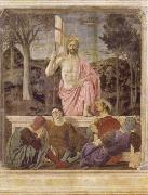 Piero della Francesca The Resurrection of Christ oil painting picture wholesale