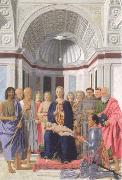 Piero della Francesca Brera madonna oil painting picture wholesale