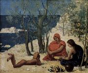 Pierre Puvis de Chavannes The White Rocks oil painting picture wholesale