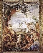Pietro da Cortona The Golden Age by Pietro da Cortona. oil painting picture wholesale
