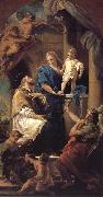 Pompeo Batoni Notre Dame, and the Son in St. John s Nepomuk oil painting picture wholesale