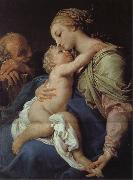 Pompeo Batoni Holy Family oil painting picture wholesale