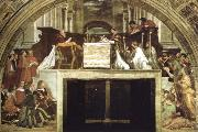 Raphael the mass of bolsena oil painting picture wholesale