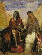 Theodore Chasseriau Othello and Desdemona in Venice oil painting picture wholesale