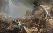 Thomas Cole the course of empire destruction oil painting picture wholesale