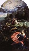 Tintoretto st.george and the dragon oil painting picture wholesale