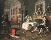 William Hogarth shortly after the marriage oil painting picture wholesale