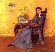 William Merritt Chase Portrait of Miss Dora Wheeler oil painting picture wholesale