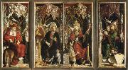 michael pacher altarpiece of the church fathers oil painting picture wholesale