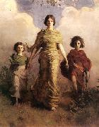 Abbott Handerson Thayer A Virgin oil painting picture wholesale