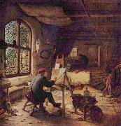 Adriaen van ostade The painter in his workshop oil painting picture wholesale
