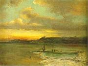Alexei Savrasov Early Spring. Thaw. oil painting reproduction