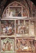 Barna da Siena Scenes from the New Testament oil