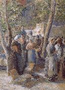 Camille Pissarro market oil painting picture wholesale