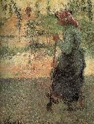 Camille Pissarro woman oil painting picture wholesale