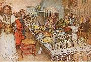 Carl Larsson Christmas Eve oil painting picture wholesale