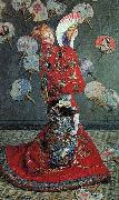 Claude Monet Madame Monet in a Japanese Costume, oil painting picture wholesale