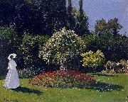 Claude Monet Woman in a Garden oil painting picture wholesale