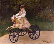 Claude Monet Jean Monet on his Hobby Horse oil painting picture wholesale