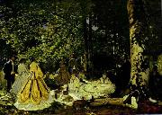 Claude Monet Le dejeuner sur l herbe oil painting picture wholesale