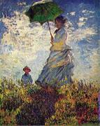 Claude Monet Woman with a Parasol, oil painting picture wholesale
