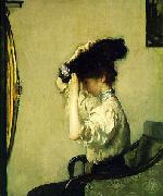 Edmund Charles Tarbell Preparing for the Matinee, oil painting picture wholesale
