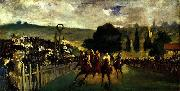 Edouard Manet Racing at Longchamp, oil painting picture wholesale