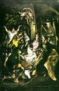 El Greco adoration of the shepherds oil painting reproduction