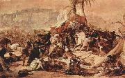 Francesco Hayez The Seventh Crusade against Jerusalem oil painting picture wholesale
