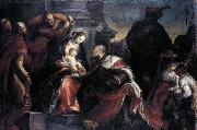 Francisco Camilo Adoration of the Magi oil painting artist