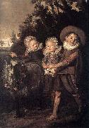 Frans Hals Group of Children WGA Germany oil painting reproduction