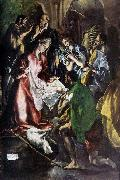 GRECO, El Adoration of the Shepherds oil painting reproduction