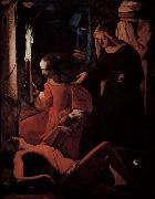 Georges de La Tour St Sebastian tended by St Irene oil painting picture wholesale