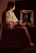 Georges de La Tour The Penitent Magdalene, Metropolitan oil painting picture wholesale