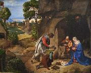 Giorgione The Allendale Nativity Adoration of the Shepherds oil painting picture wholesale